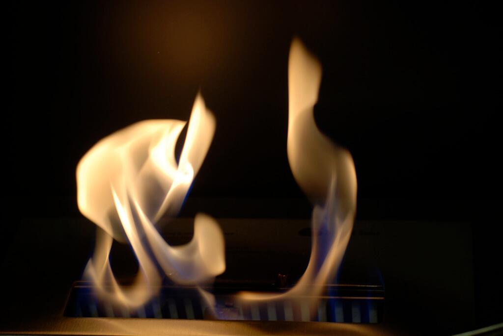 bioethanol kamin flammen